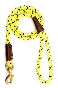 Mendota Yellow 4 Foot Snap Leash