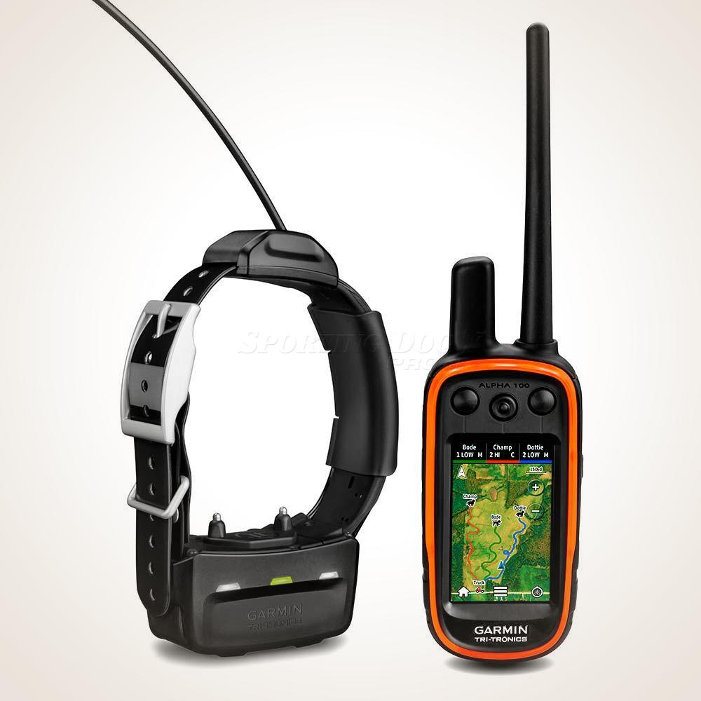 Garmin Alpha 100 GPS Training & Tracking Collar