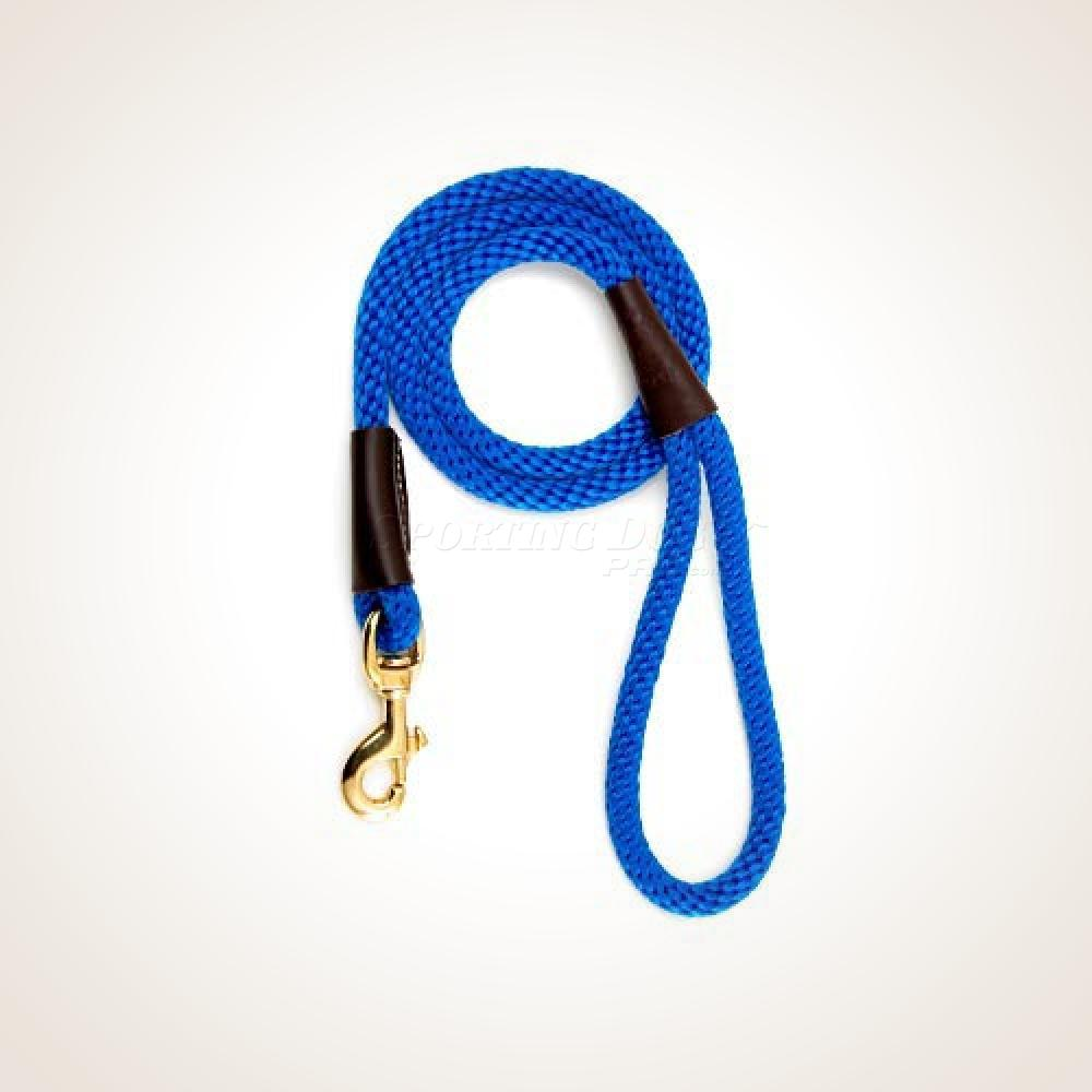 "Mendota 1/2"" x 4' Snap Leash - Blue"