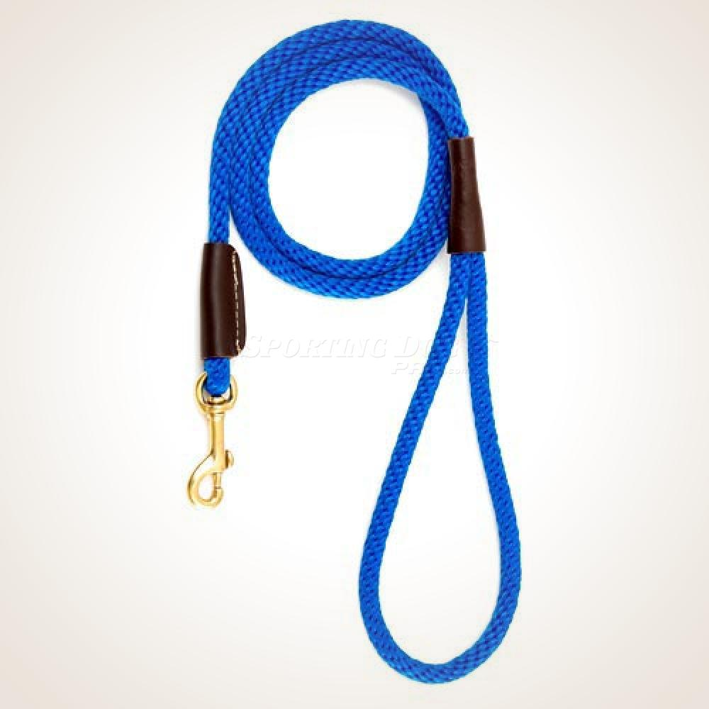 "Mendota 1/2"" x 6' Snap Leash - Blue"