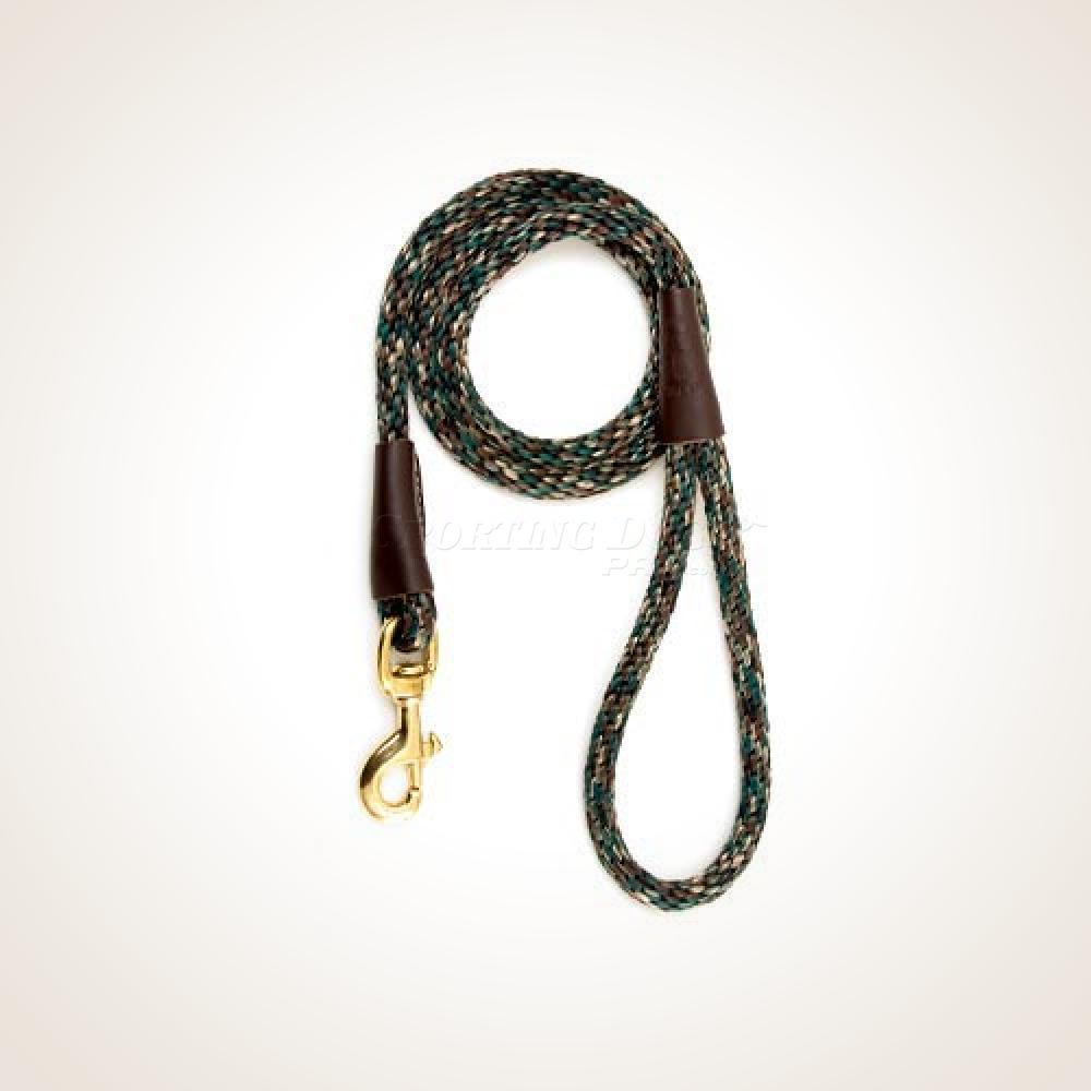 "Mendota 1/2"" x 4' Snap Leash - Camo"