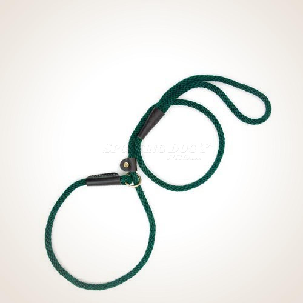 Mendota  4' British Style Slip Lead - Hunter Green