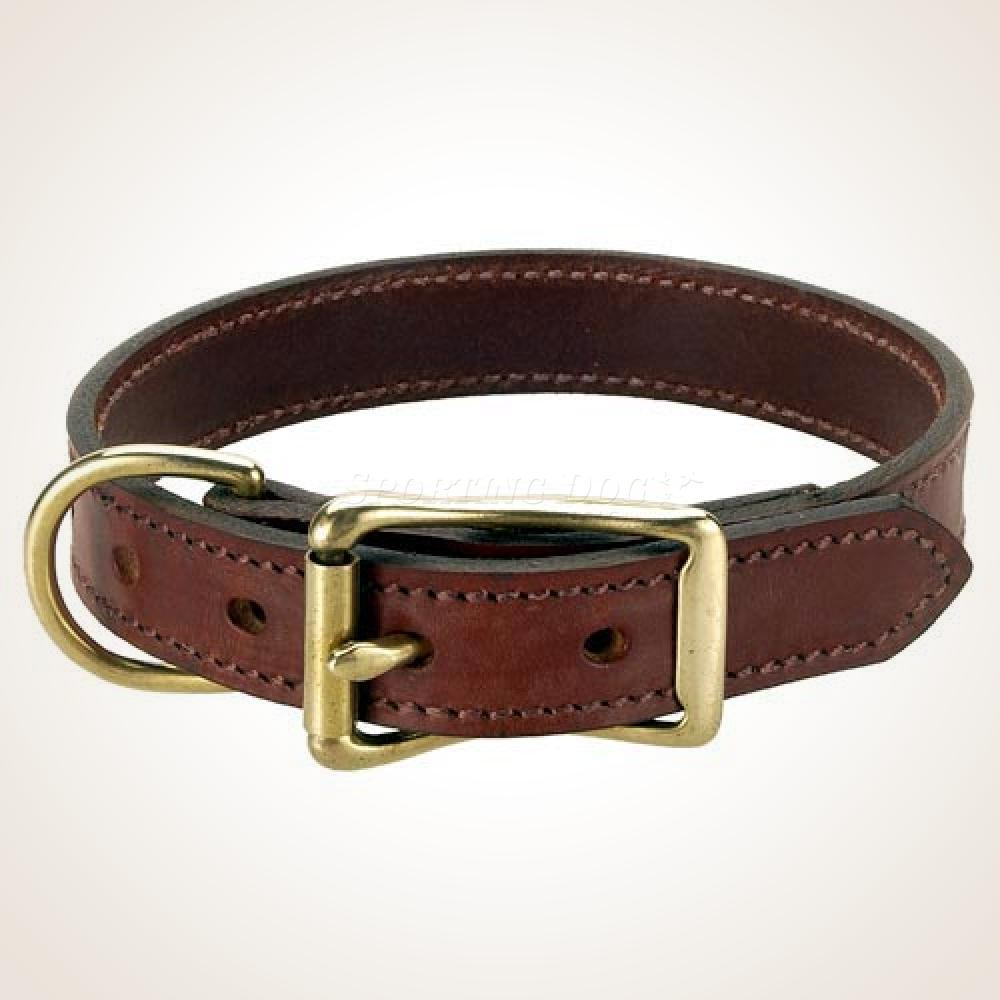 "Mendota 1"" Leather Collar"