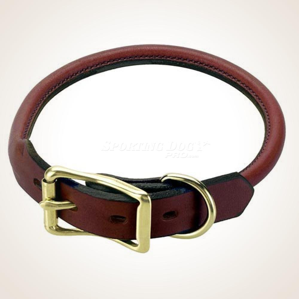 "Mendota 22"" Leather Rolled Collar"