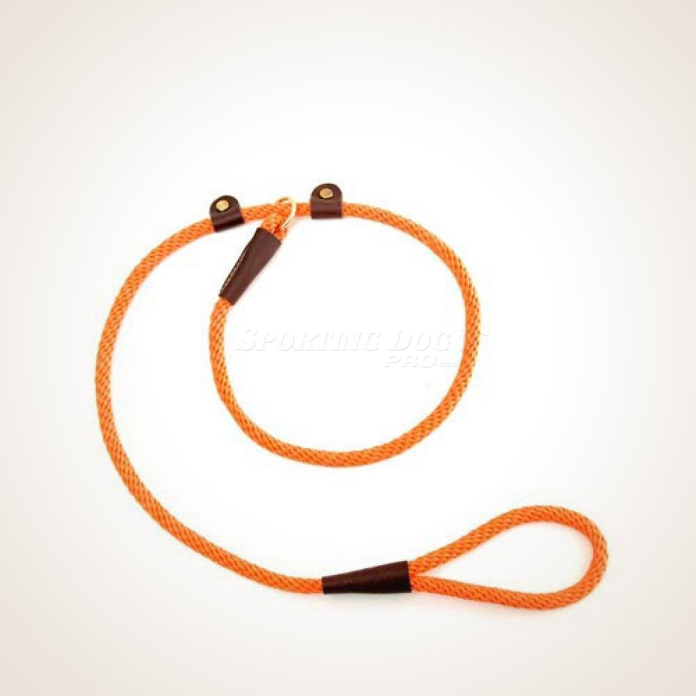 "Mendota 3/8"" x 3' Handler's Lead - Orange"
