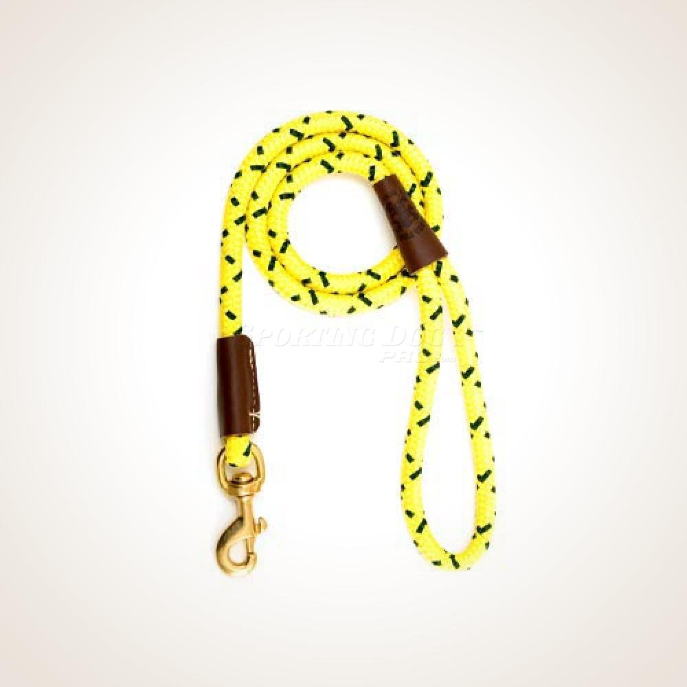 "Mendota 1/2"" x 4' Snap Leash - High-Viz Yellow"