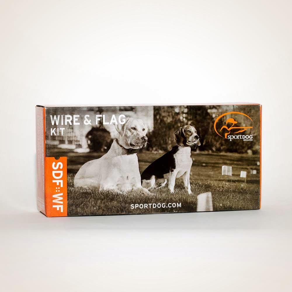 SportDOG Extra Boundary Wire & Flag Kit - Box Front