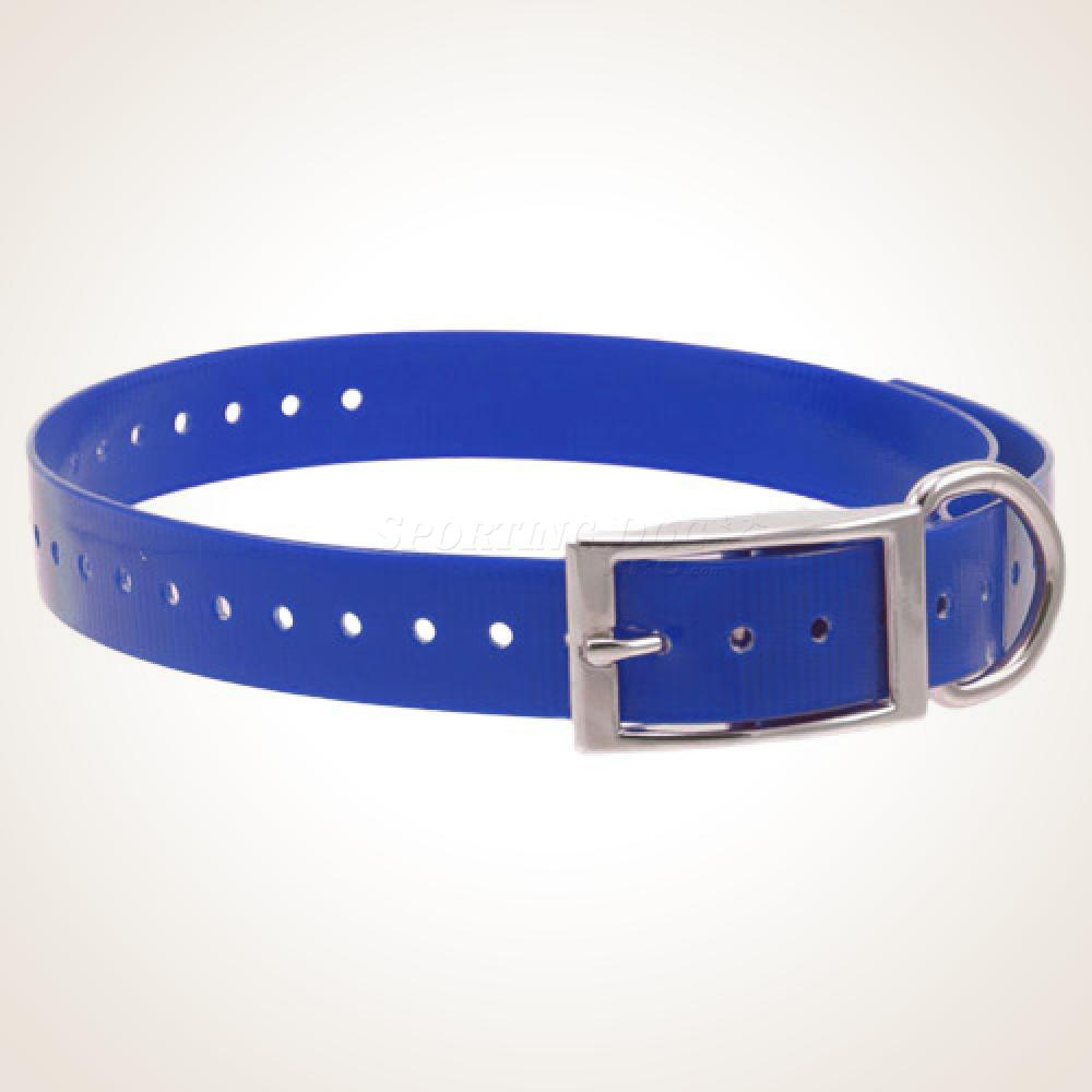 "1"" High-Flex Collar Strap - Blue"