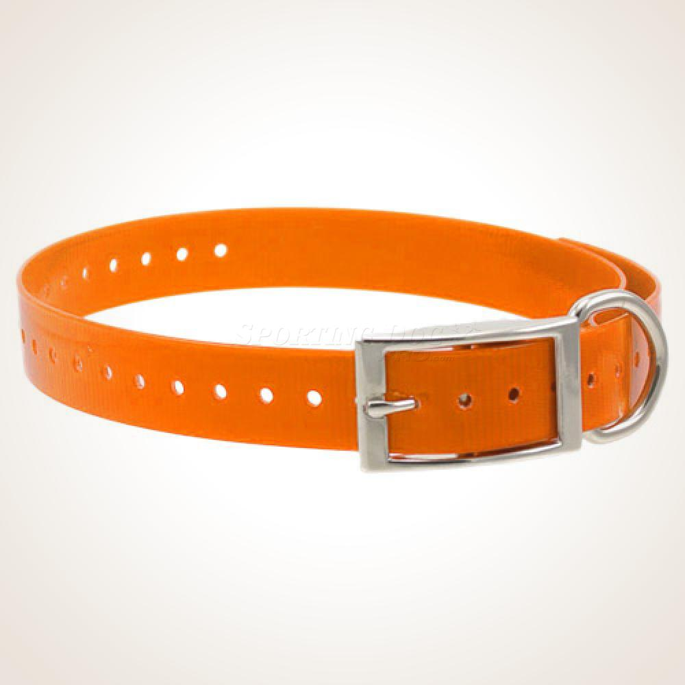 "1"" High-Flex Collar Strap - Orange"