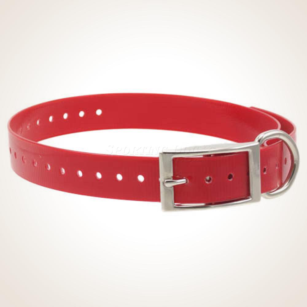 "1"" High-Flex Collar Strap - Red"