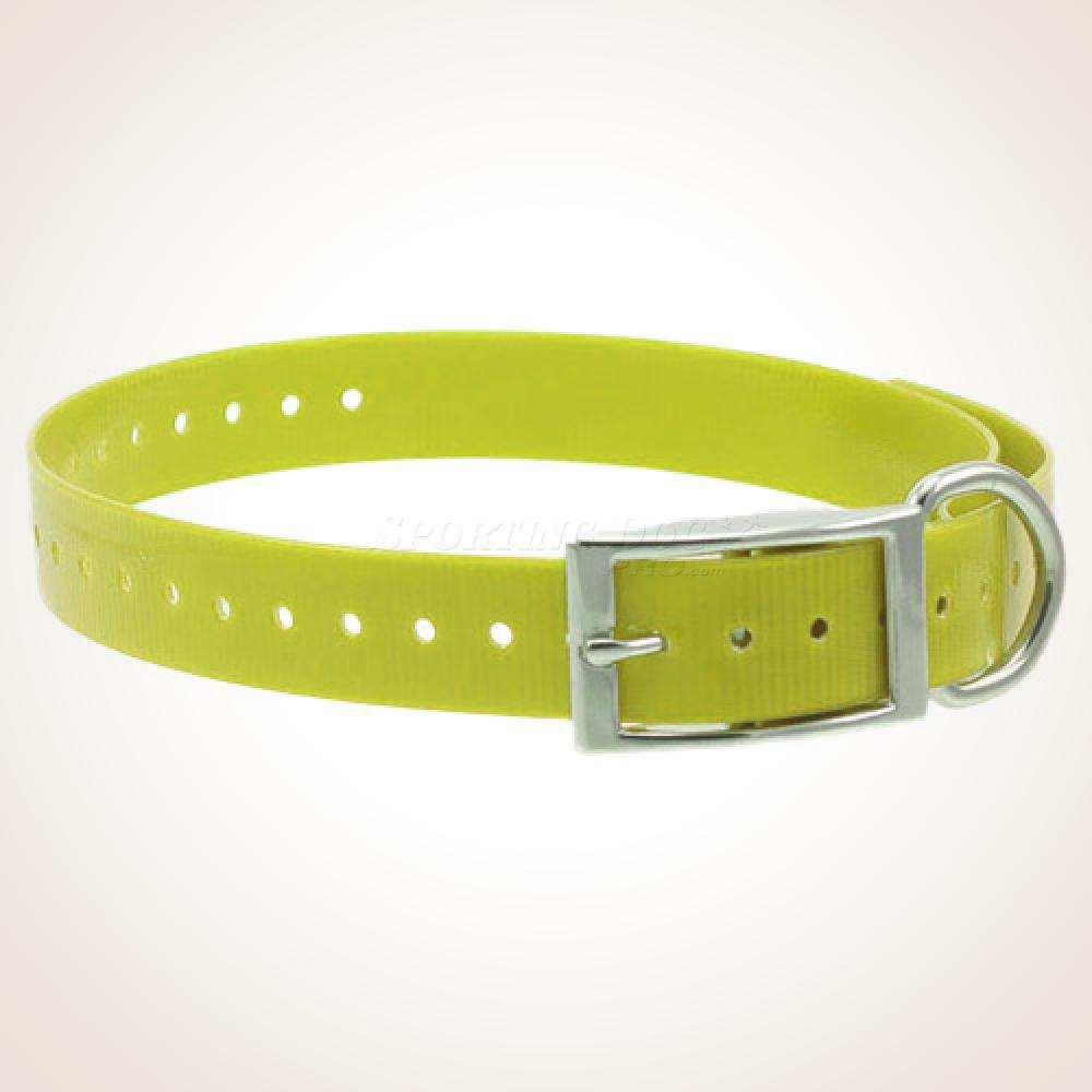 "1"" High-Flex Collar Strap - Yellow"