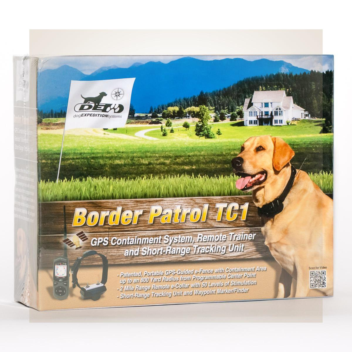Border Patrol Tc1 Gps Portable Dog Fence Amp Remote Trainer