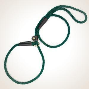 "Mendota 1/2"" x 6' British Style Slip Lead - Hunter Green"