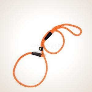 Mendota  4' British Style Slip Lead - Orange