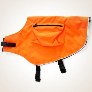 Mendota Canine Field Jacket - Orange w/ Reflective Trim