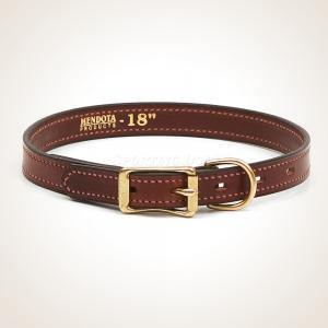 "Mendota 3/4"" Small Leather Collar"