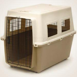 "39"" Plastic Dog Kennel - Extra Large"
